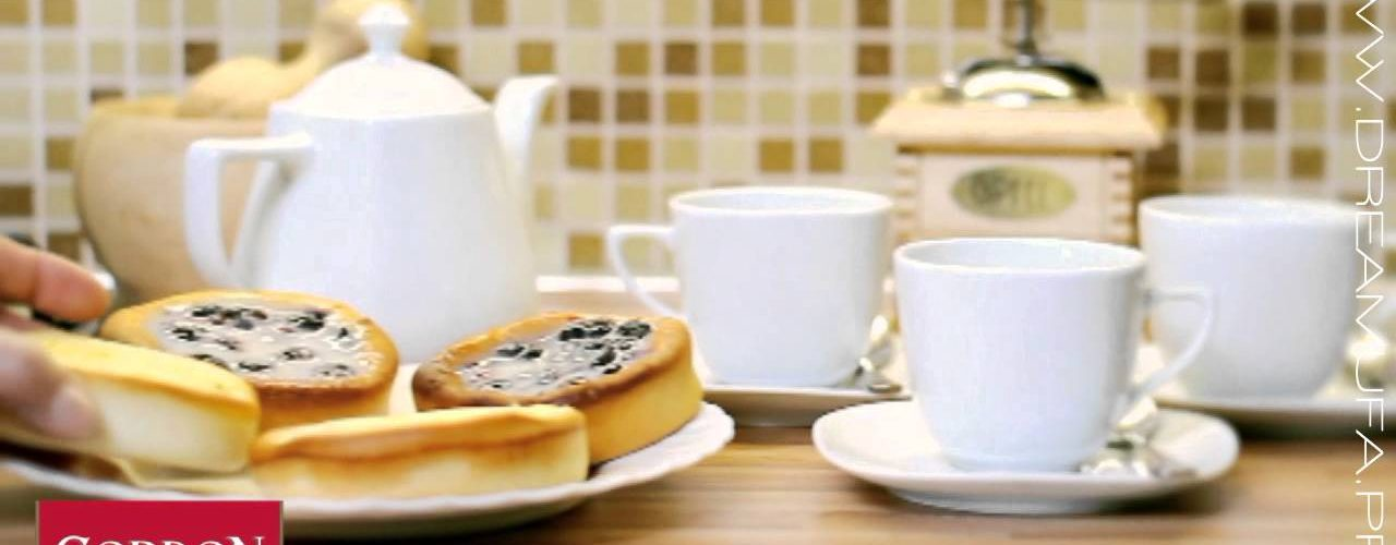Постановочный рекламный видео ролик для чая «Gordon»