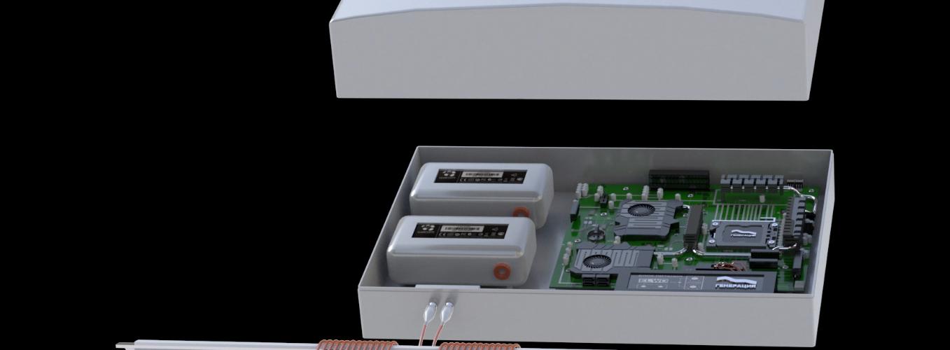 3D видеоролик для сайта